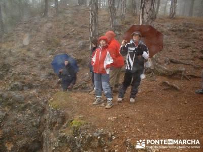 Torcas y Lagunas de Cuenca; rutas por madrid; trekking material